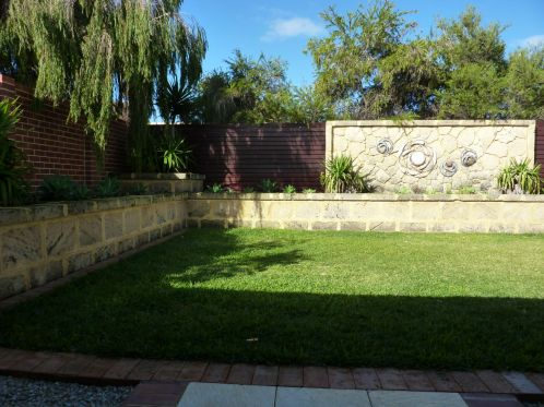 Feature Landscaping Walls